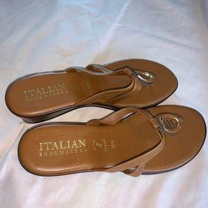 Nice Sandals Italian Shoe Size 10